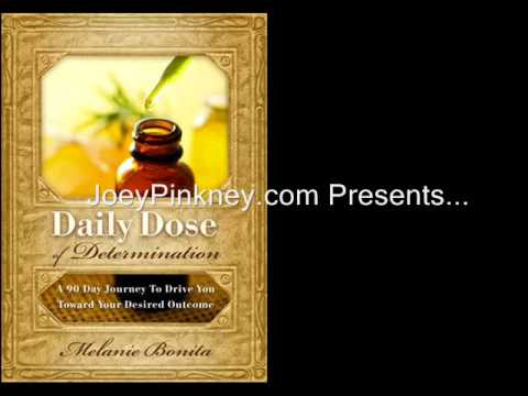 JoeyPinkney.com 5 Minutes, 5 Questions With... Melanie Bonita (Daily Dose of Determination)