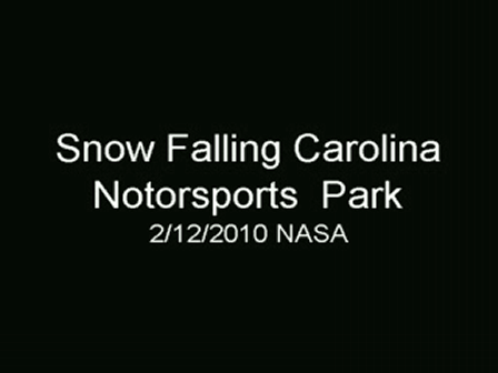 NASA CMP SNOW AT FINISH