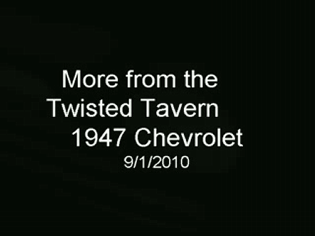 Twisted Tavern 1947 Stylemaster