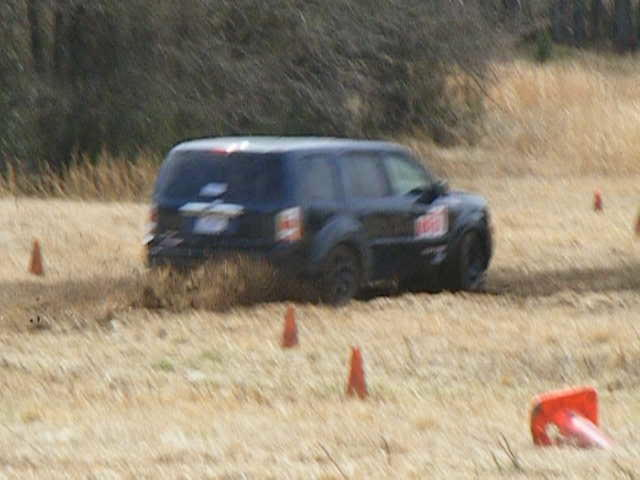 Testing the Vortex Theory at ALSCCA RallyCross
