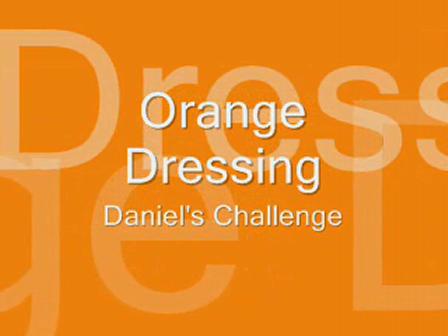 Orange Dressing