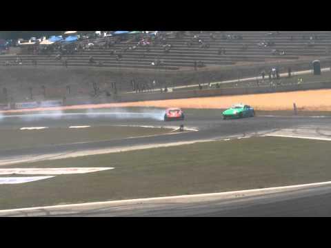 Formula Drift  Atlanta 2011 Saturday practice cam 1 3/5