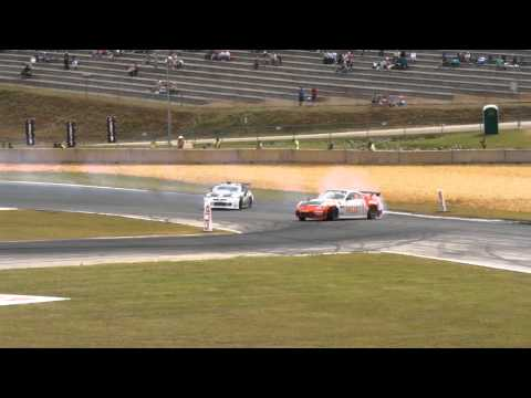 Formula Drift  Atlanta 2011 Saturday top32 head to head  cam 1 part 1/