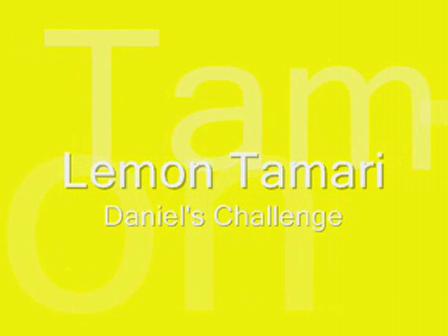 Lemon Tamari