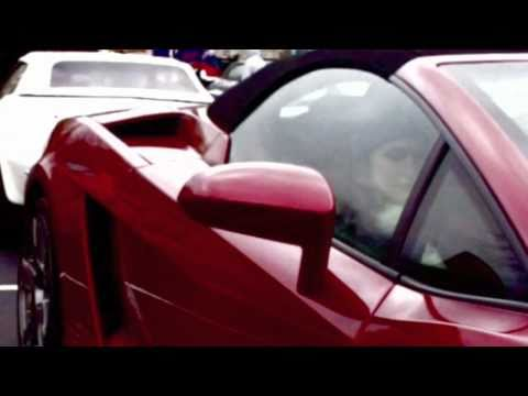 Lady in Red Lambo