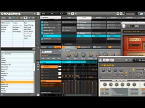 Native Instruments Maschine Mikro Hard Trap Beat