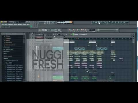 New Kirko Bangz Pusha T Type Beat (Hip Hop) (2012) Made In FL Studio 10 (Prod. ByNuggifresh) {HD}