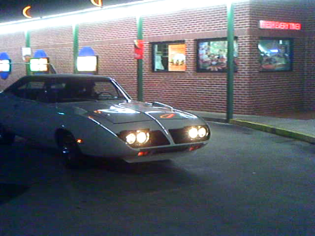 Super Bird at Sonics in Loganville Ga. Oct. 22, 2011