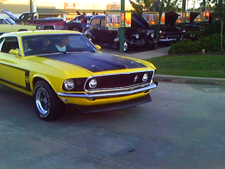 Boss Mustang at Sonics in Loganville Ga. Sept. 30, 2011