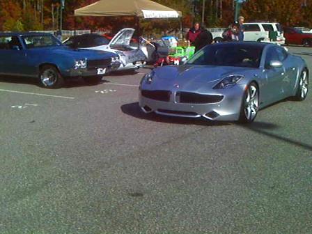 2012 Fisker Karma at Johns Creek