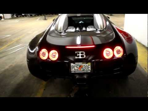 Bugatti Veyron Cold Start and Idle