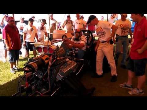 Bruce Larson at GM Nationals at Carlisle 2013 Cacklefest intro