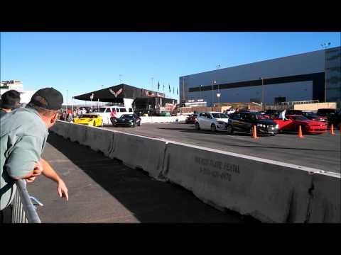 Corvette rides at SEMA 2014
