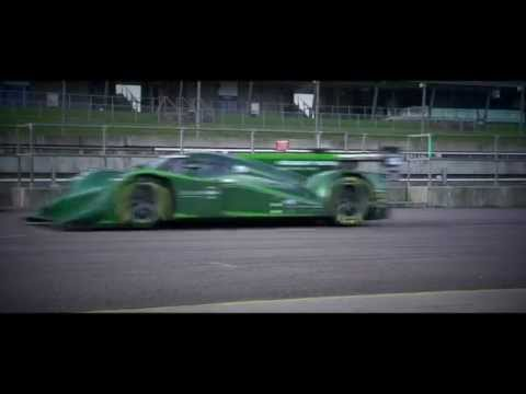 Drayson Racing 850 hp Electric Formula E Race Car Testing @ Rockingham