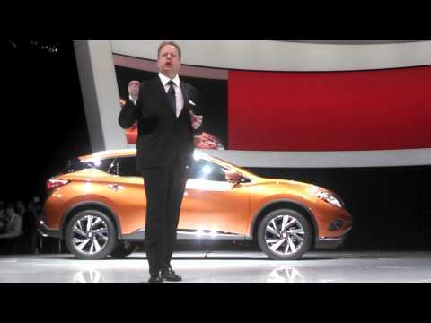 New York International Auto Show unveiling the new Murano