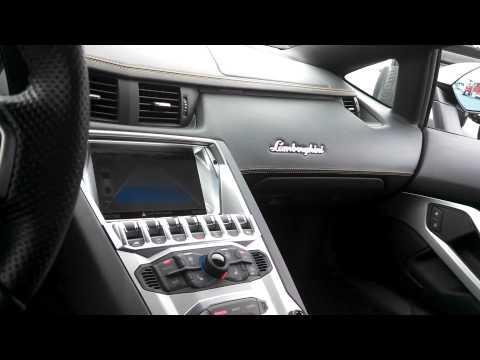 A walk around the Lamborghini Aventador