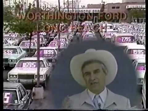 classic Cal Worthington & his dog Spot TV ad 1981