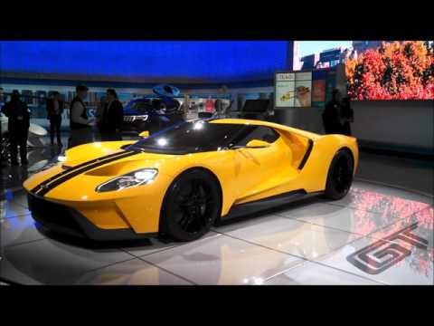 Ford GT at the 2016 New York International Auto Show