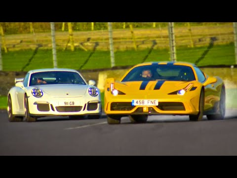 Ferrari 458 Speciale vs. Porsche 911 GT3 - Fifth Gear