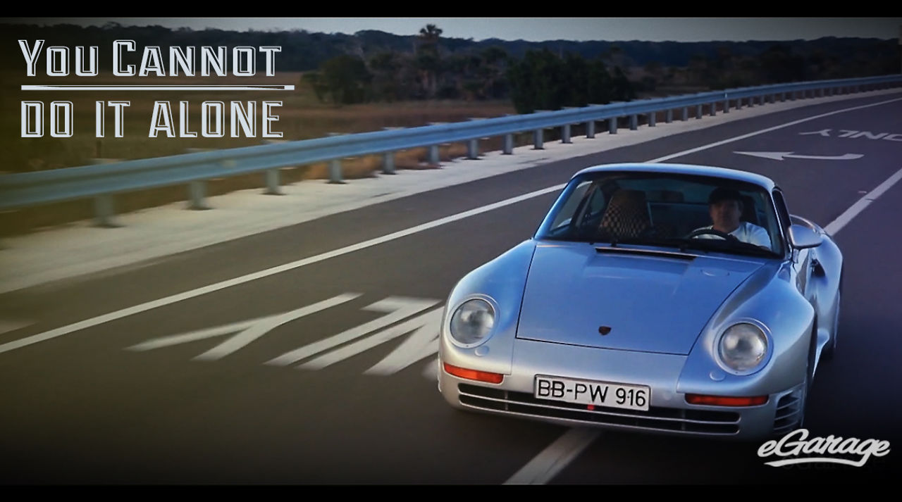 """Porsche 959 - """"You Cannot Do It Alone"""""""