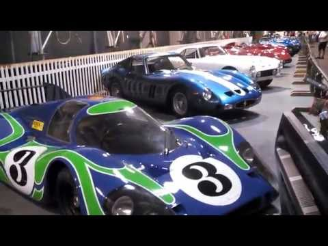 Le Mans sports cars at the Simeone Museum