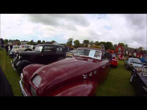 Wrea Green UK Village Car show June 2015