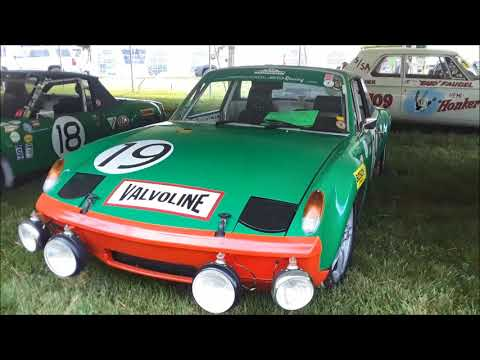 A Walk Abou Air Cooled Racing's Porsche 914 6 GT and 911