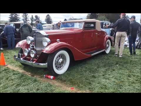 Classic Packards, Lincoln, Chrysler, LaSalle and Cord At the AACA Fall Meet, Hershey