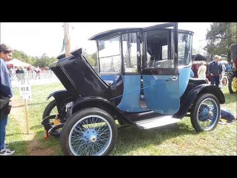 A Walk About Bill's 1918 Detroit Electric