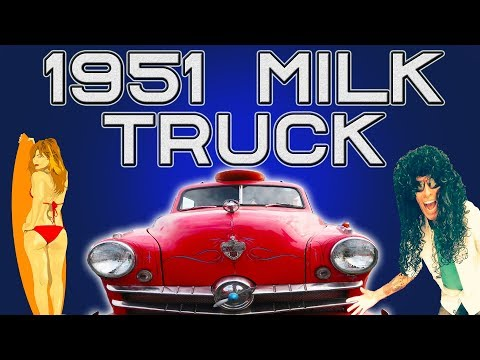 1951 MILK TRUCK DIXIE CRUISERS