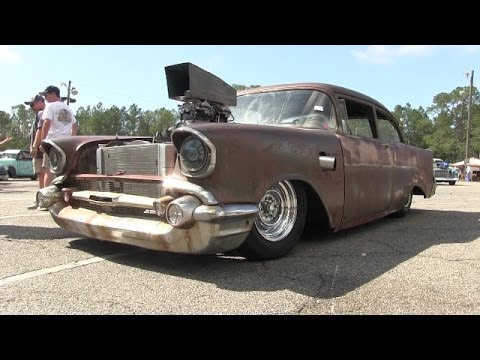 HOT ROD MADNESS CHECKS OUT RICHIE'S RAT AT ATOMIC BLAST