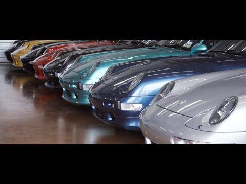 Rudyfied: A Colorful Porsche Collector