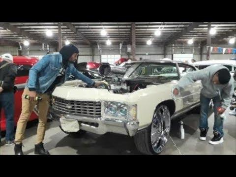 Kevin's Insane '71 Impala At the 2018 East Coast Indoor Nats