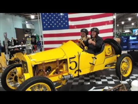Joe and Karen's Infamous 1920 Ford Speedster