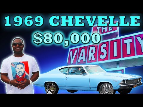 69 CHEVELLE BABY BLUE  $80,000