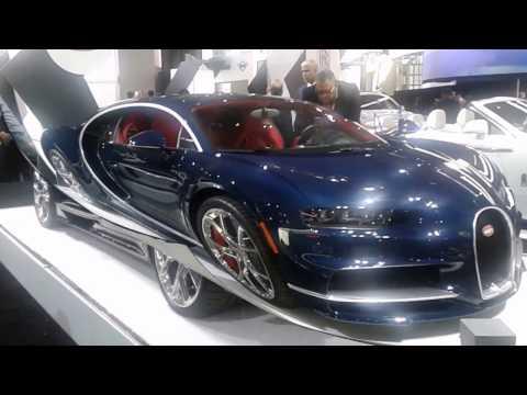 Bugatti Chiron at the 2017 New York International Auto Show