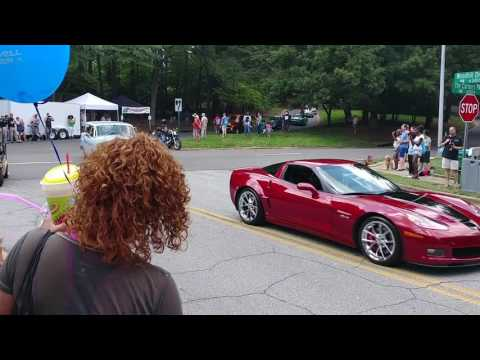 Peachtree Corners Festival Car & Bike Show Drive-Out Parade! 2017