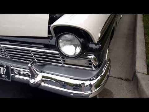 1957 Ford Skyliner @ Caffeine & Octane