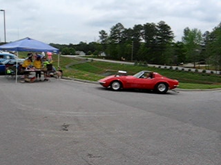 Custom Vette at the Walnut Grove Car Show -Loganville, GA Mar. 31, 2012