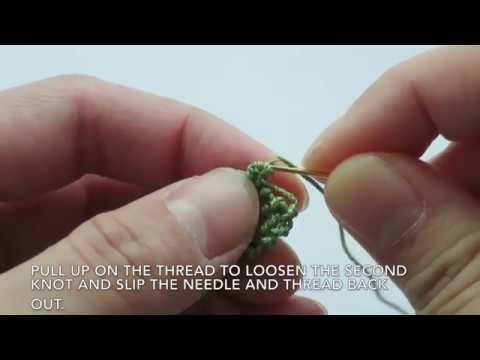 Needle Lace Basics: Undo Double Knots and Fixing Mistakes