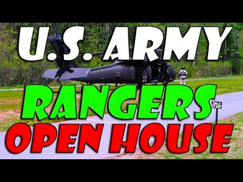 U.S. ARMY RANGER OPEN HOUSE PART ONE