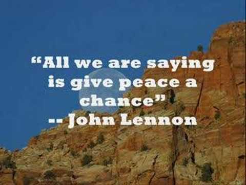 Believe in Peace!