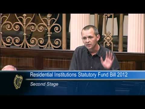 Richard Boyd Barrett TD speaking on the Residential Institutions Statutory Fund Bill 2012