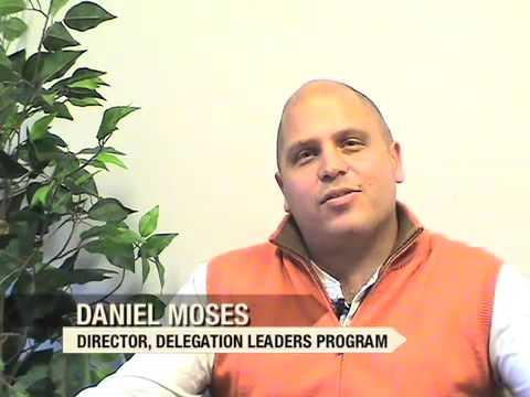 """Seeds of Peace """" Delegation Leaders Program"""""""