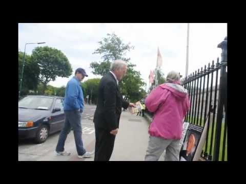 Protest the Eucharistic Congress June 10th 2012  Part 1