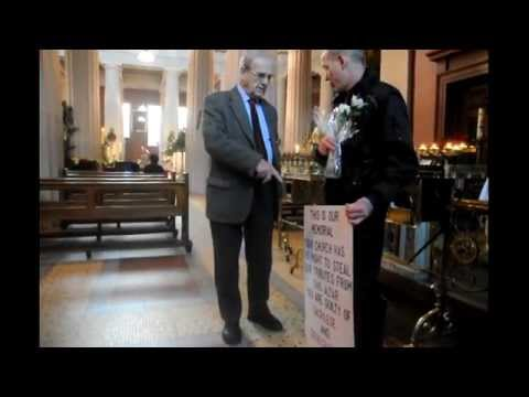 ACCAI  PROTEST ~ 2012 NEW YEARS DAY ~ VATICAN MELTDOWN 2012