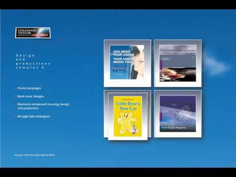 Coleman Taylor Graphic Design  A four minute presentation