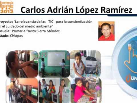 TEMÁTICAS DE PROYECTOS EN EL 1ER ENCUENTRO EXCELENCIA DOCENTE TIC 2012