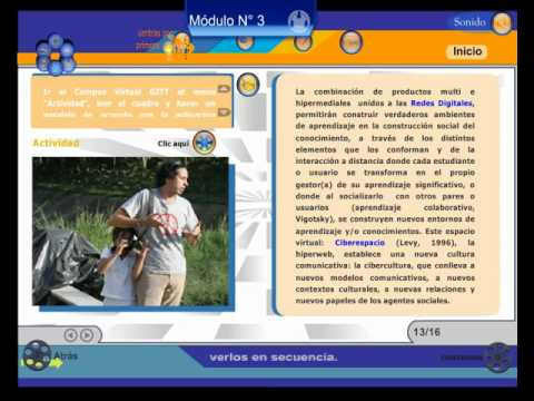 Demo Hipermedia Educativa Multitaller