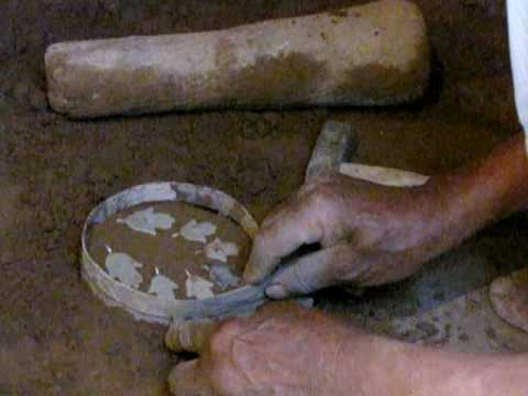 Silversmith in Morocco